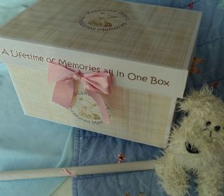 Keepsake Bear Treasured Memories Box